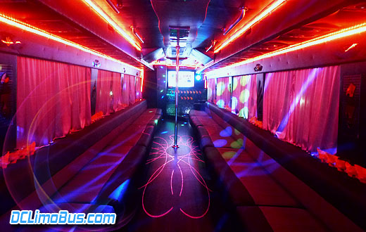 DC Coach Party Bus