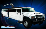 DC Hummer Limo Gullwing Doors.