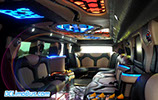 DC Hummer Limo Gullwing Doors Interior - Back